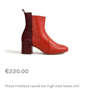 INLU Red Boots